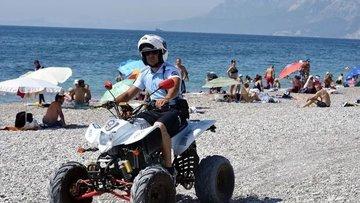 """Antalya sahilleri """"ATV Polis Timi"""" tarafından korunacak"""