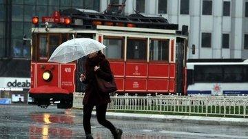Meteoroloji İstanbul için sağanak yağış uyarısı yaptı