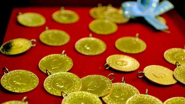 Gram altın 1 haftanın en düşüğünü gördü