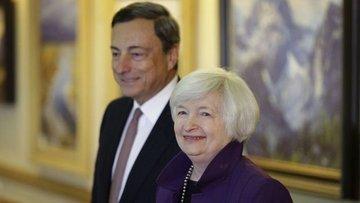 Yellen ve Draghi Jackson Hole'da konuşacak