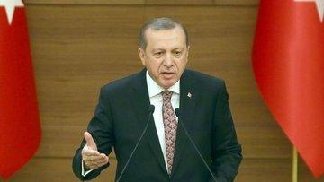 Cumhurbaşkanı Erdoğan'dan Afrin açıklaması: Gözümüzü kara...