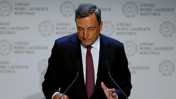 Draghi Jackson Hole öncesi politika sinyali vermedi