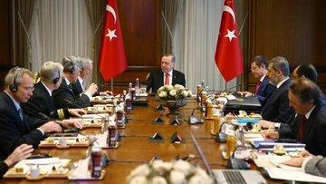 Erdoğan ABD Savunma Bakanı Mattis'i kabul etti