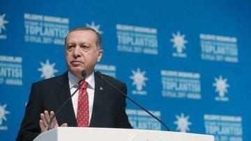 Erdoğan: Başarı çıtamız asgari yüzde 50 artı 1