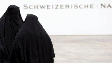 İsviçre'de burka ve yüzü kapatan kıyafetlerin giyilmesini...