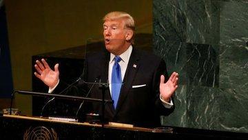 Trump'ın BM'de yaptığı konuşma bazı ülkelerin tepkisine n...