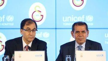 Galatasaray, UNICEF ile işbirliği anlaşması imzaladı