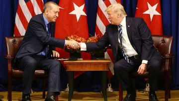Erdoğan ile ABD Başkanı Trump bir araya geldi