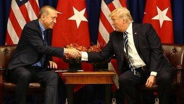 Cumhurbaşkanı Erdoğan ile ABD Başkanı Trump'ın görüşmesi ...