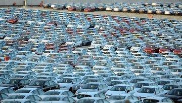 Otomotiv satışları 8 ayda % 2,52 azaldı