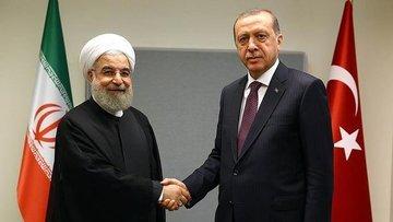 Erdoğan Ruhani ile Irak'ı görüştü