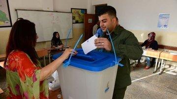 """Irak Kürt bölgesi, """"bağımsızlık"""" referandumu için bugün s..."""