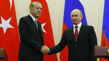 Erdoğan Putin ile Irak ve Suriye'yi görüştü