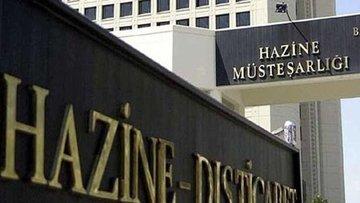 Hazine 1,1 milyar lira borçlandı