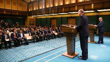 Erdoğan: Irak ve Suriye'nin toprak bütünlüğü konusunda he...