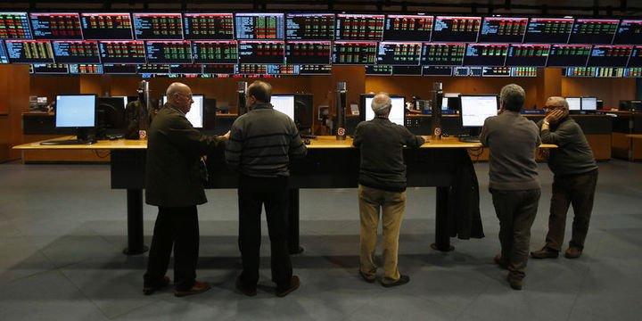 "Avrupa hisseleri ""düşen euro"" ile Wall Street"