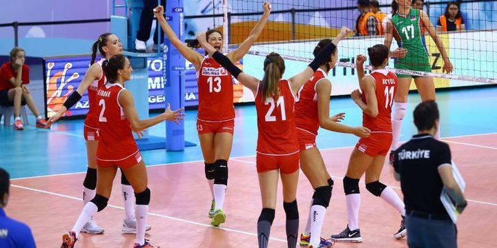 A Milli Kadın Voleybol Takımı Avrupa üçüncüsü oldu