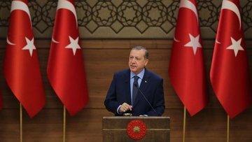 Erdoğan (İstifa iddiaları): Şu an yok ama olmayacağı anla...