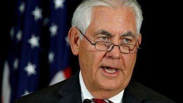 """ABD Dışişleri Bakanı Tillerson """"istifa etmiyorum"""" dedi"""