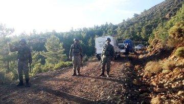 Muğla'da kaçan teröristlere yönelik operasyon sürüyor