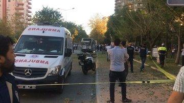 Mersin'de polis servis aracına yönelik bombalı saldırı dü...