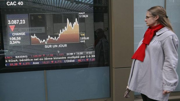 Avrupa hisseleri ayın en düşük seviyesine geriledi
