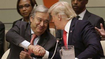BM Genel Sekreteri Trump ile görüşecek