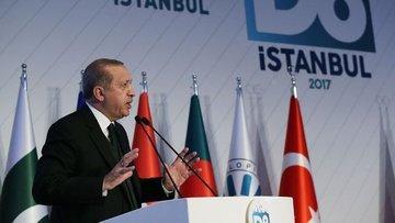 Erdoğan: D8'i genişletip D20'ye kadar çıkarmalıyız