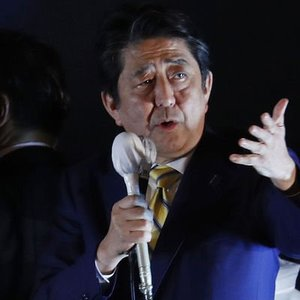 JAPONYA'DA GENEL SEÇİMİN GALİBİ BAŞBAKAN ABE