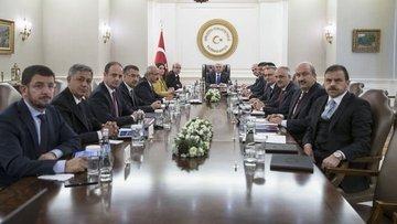 EKK toplantısı Yıldırım başkanlığında gerçekleşti