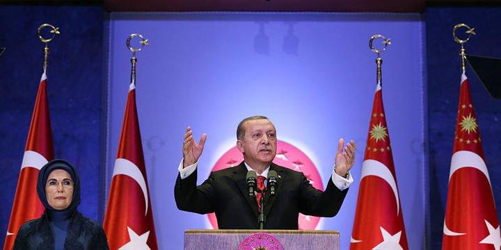 Erdoğan: Büyüme yıl sonunda yüzde 7