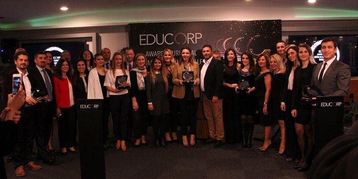 EDUCORP 2017 ödülleri sahiplerini buldu