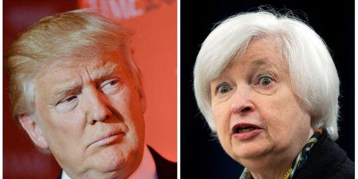 Trump: Yellen mükemmel ancak tekrar atanmayabilir