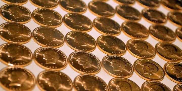 Hazine altına dayalı ihraçlardan 2.47 ton altın topladı