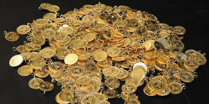 Altının gramı rekor seviyeye yükseldi