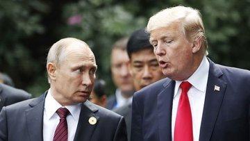 Putin ve Trump'tan Suriye için ortak açıklama