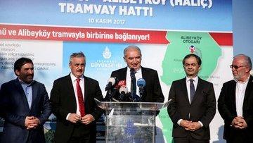 İstanbul'da yeni tramvay hattı için tarih verildi