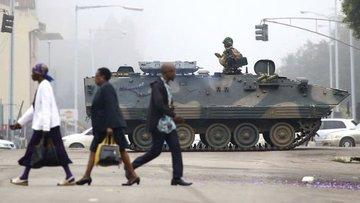 Zimbabve'de ordu yönetimi ele geçirdi