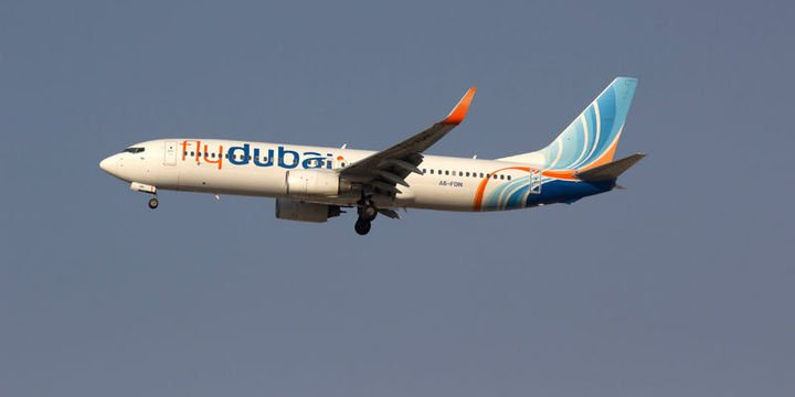 FlyDubai Boeing