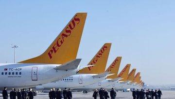 Pegasus Hava yolcu sayısı Ekim'de yıllık % 12.6 arttı