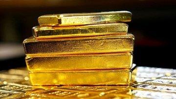 Altın dolardaki düşüşle ikinci haftalık kazancına yöneldi