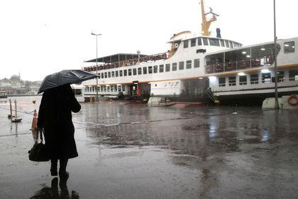 Meteorolojiden İstanbul için kuvvetli yağış uya...