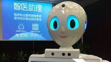 Çinli robot tıp sınavından geçti