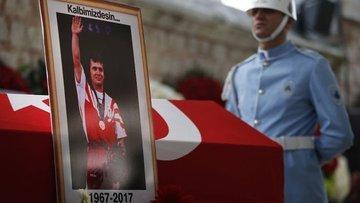Yüzyılın sporcusu Süleymanoğlu son yolculuğuna uğurlanıyor