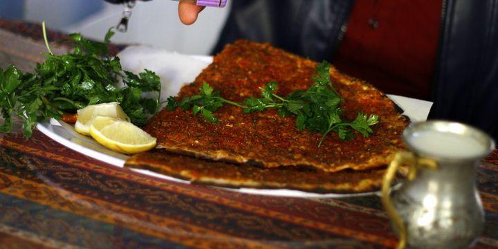 Lahmacuna Gaziantep tescili