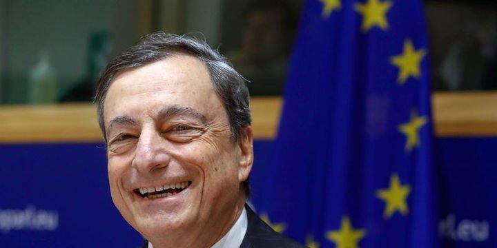 Draghi: Ekonomik büyüme geniş çaplı ve sağlam