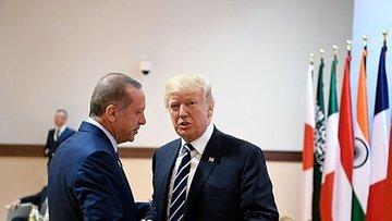 Trump bugün Erdoğan ile görüşecek
