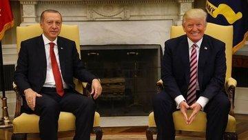 Trump ile Erdoğan görüştü
