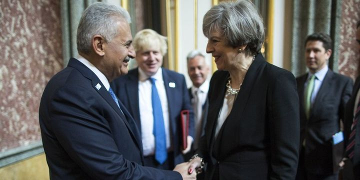 Başbakan Yıldırım, İngiltere