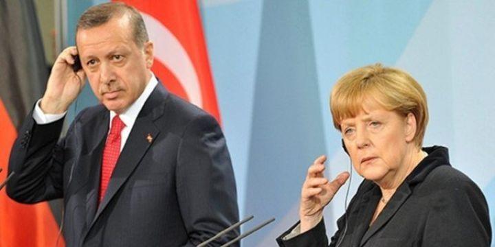 Erdoğan Merkel ile görüştü